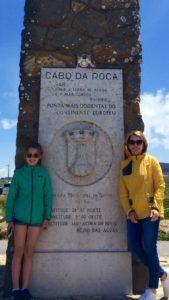 Cabo da Roca, the most western point of continental Europe