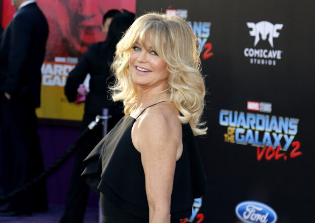 Goldie Hawn long hair