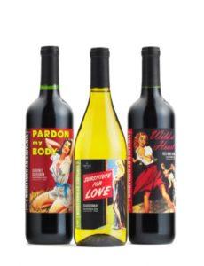Harlequin 3 bottles