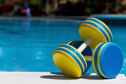 water aerobics Arm Exercises You Can Do In The Pool