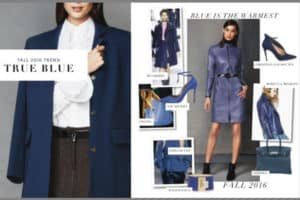 True Blue - Trends for Fall 2016