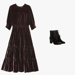 Ulla Johnsons Paulina dress; Tabitha Simmons boot