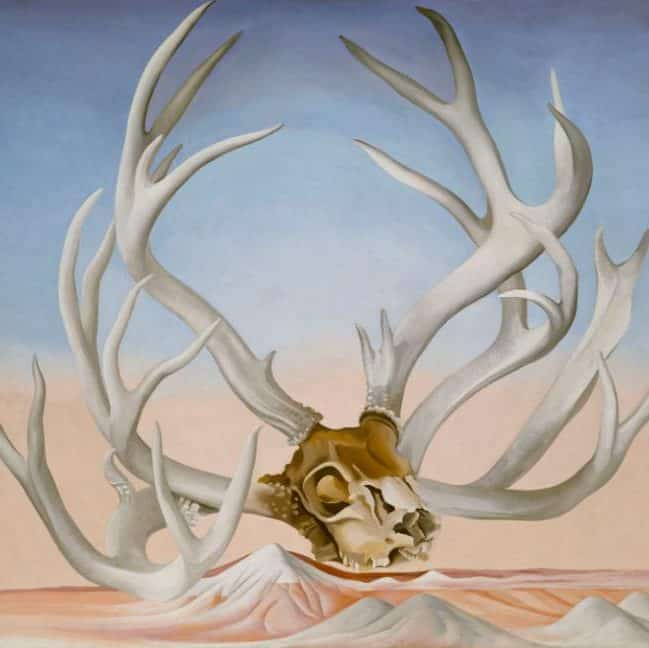 From the Faraway, Nearby: The Skull Paintings
