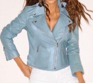 Boston Proper Moto Leather Jacket
