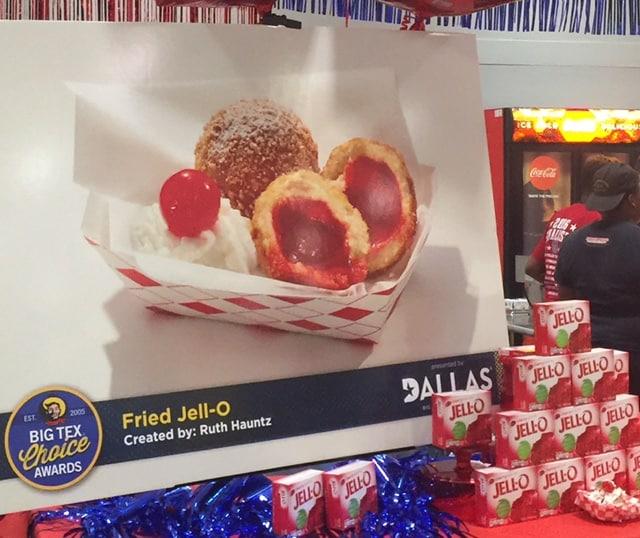 Fried Jello - State Fair of Texas