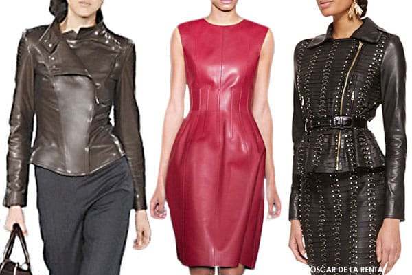 How to Wear Leather Feature