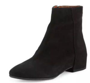 Aquatalia Uri Weatherproof Suede Ankle Boot