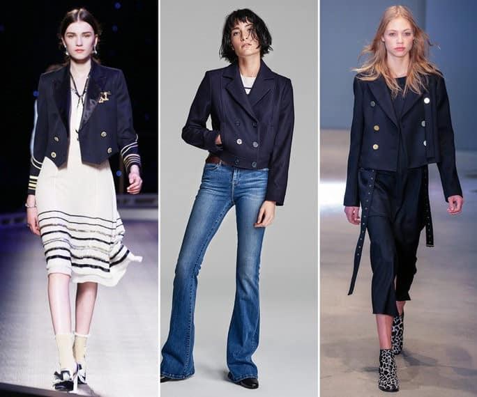 Coat Trends - Cropped Pea Coats