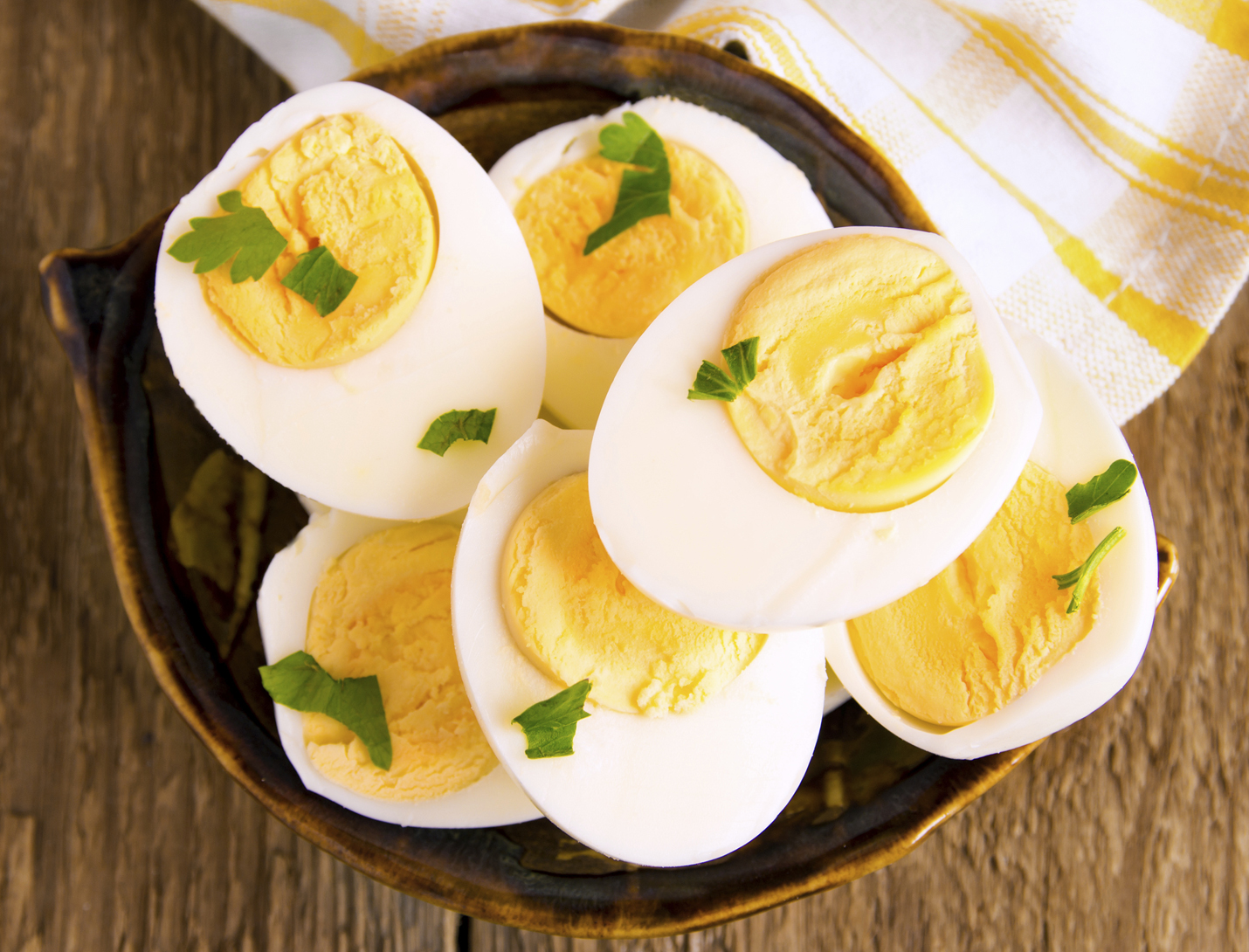 Boiled Eggs for Protein