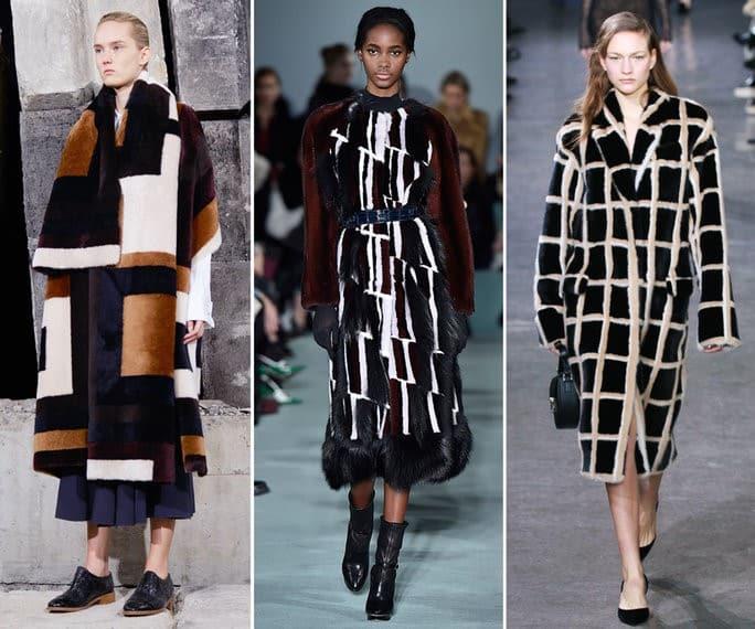 Coat Trends - Graphic Furs