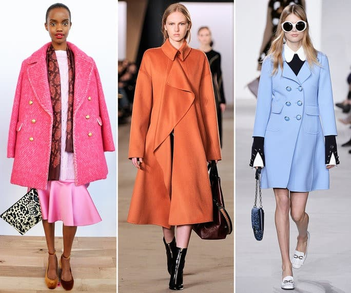 Coat Trends - Happy Spring Shades