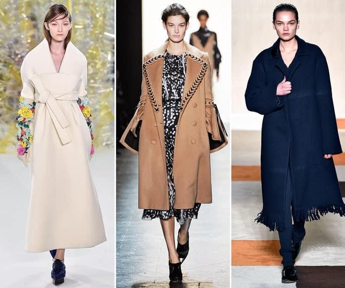 Coat Trends - Minimalist