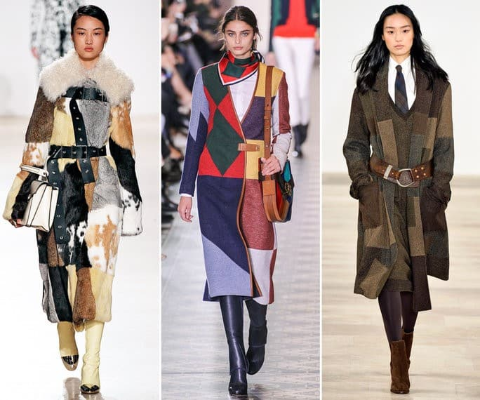 Coat Trends - Patchwork