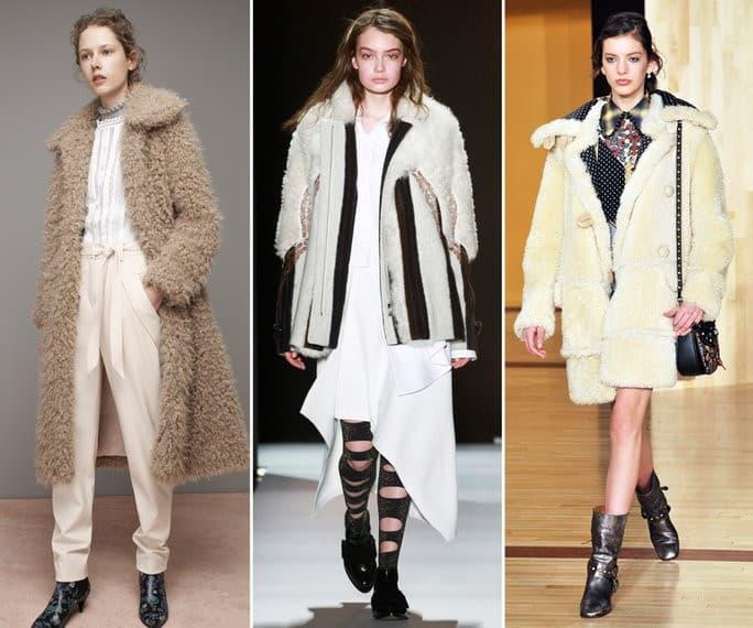 Coat Trends - Shearling