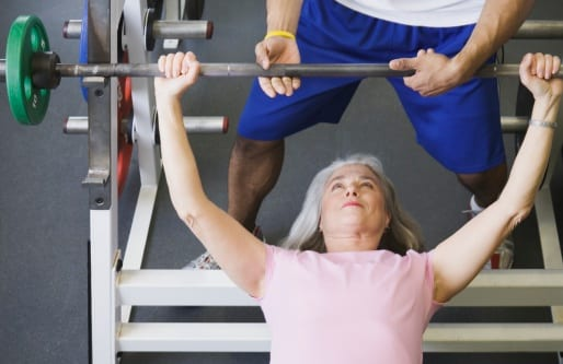 How to Fight Postmenopausal Weight Gain by lifting weights