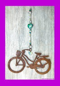 cruise bike love aqua hang crystal