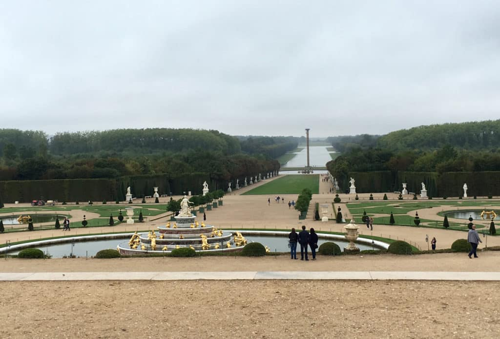 view from-versailles-cart - palace of versailles