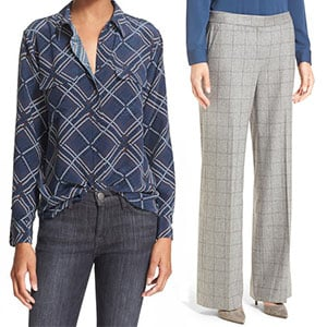 Silk Shirt and Trousers