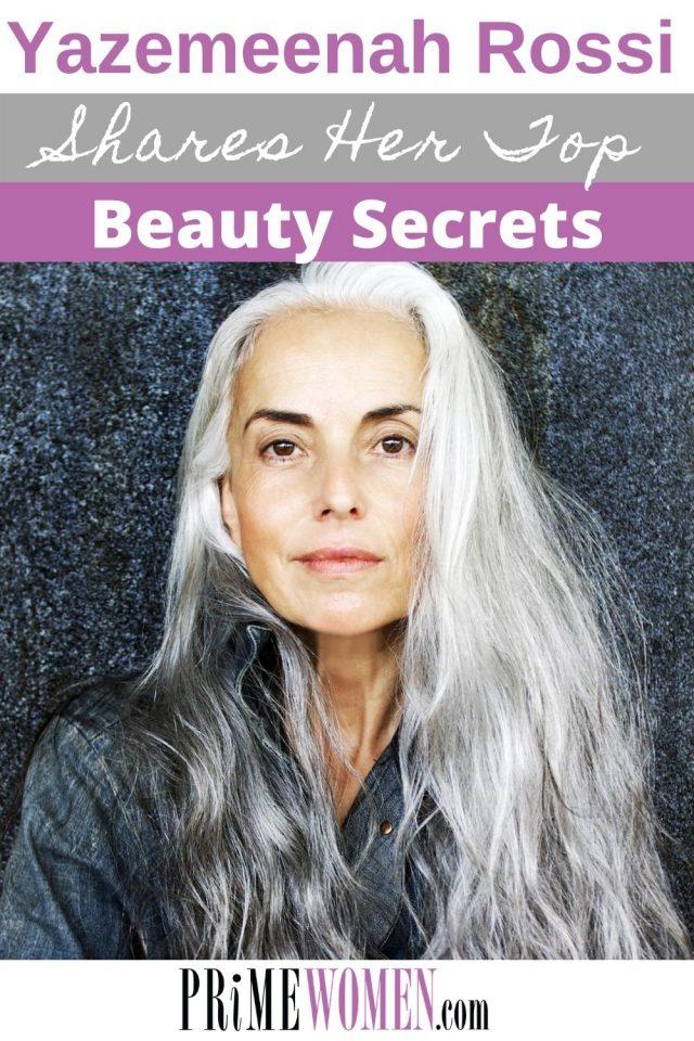 Yazemeenah Rossi shares her top beauty secrets