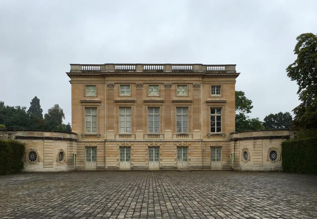 petit trianon at palace of versailles