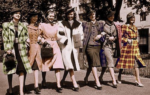 1940s women handbags - what type of purse