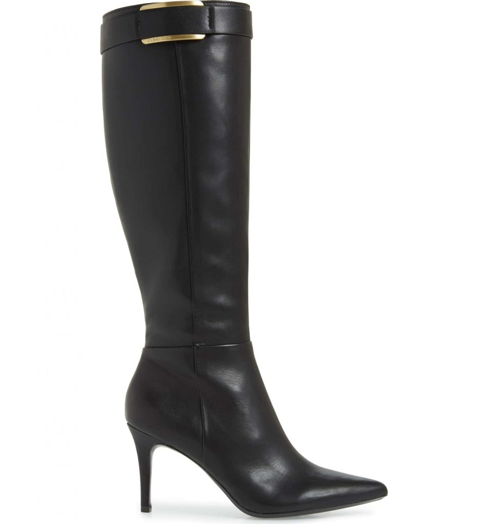 Calvin Klein Glydia Stiletto Knee High Boot