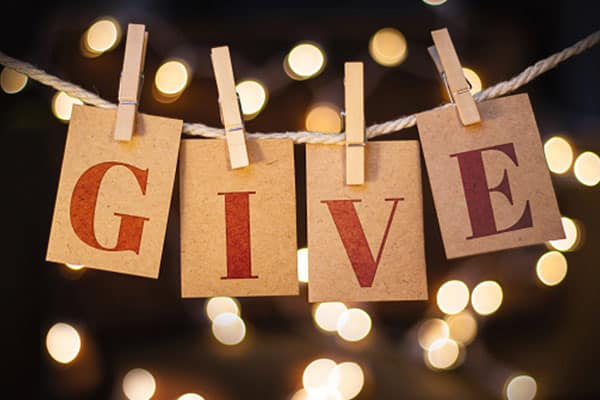 Holiday Charitable Giving