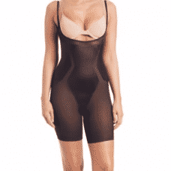 open-bust-mid-thigh-shape-suit