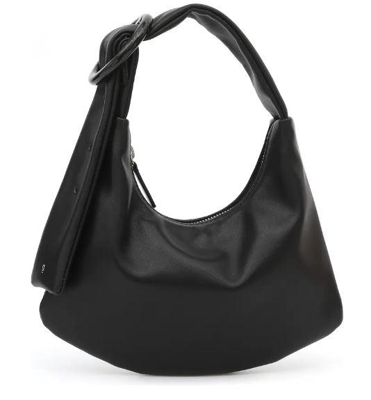 Small Lisa Leather Shoulder Bag