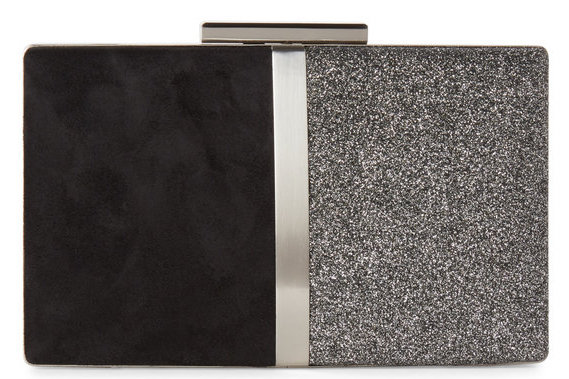 Sondra Roberts Glitter Box Convertible Clutch