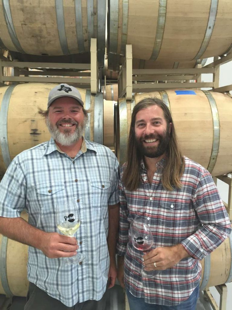 Ron Yates and Todd Crowell, Spicewood Vineyards