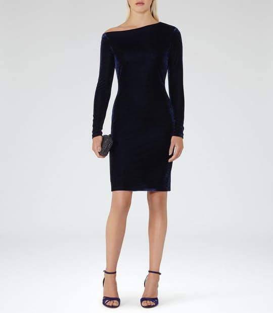 Xeni Velvet Dress