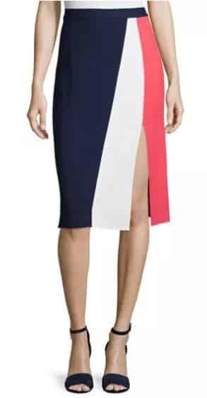 Gigi Colorblock Skirt