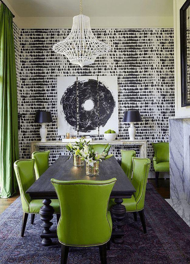 greenery-dining-room