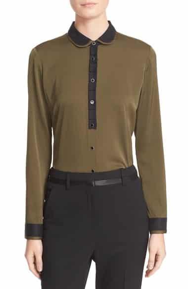 'Peter' Stretch Silk Shirt