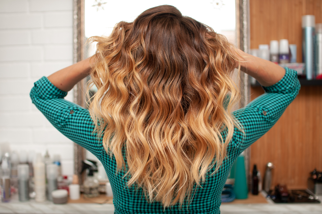 Beach waves are lovely for long hair