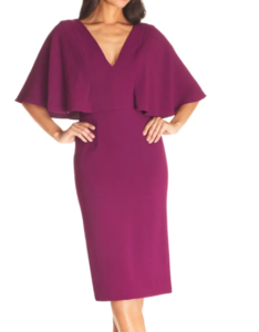 Dress The Population Louisa Butterfly Sleeve Cocktail Dress