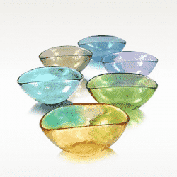 murano glass bowls