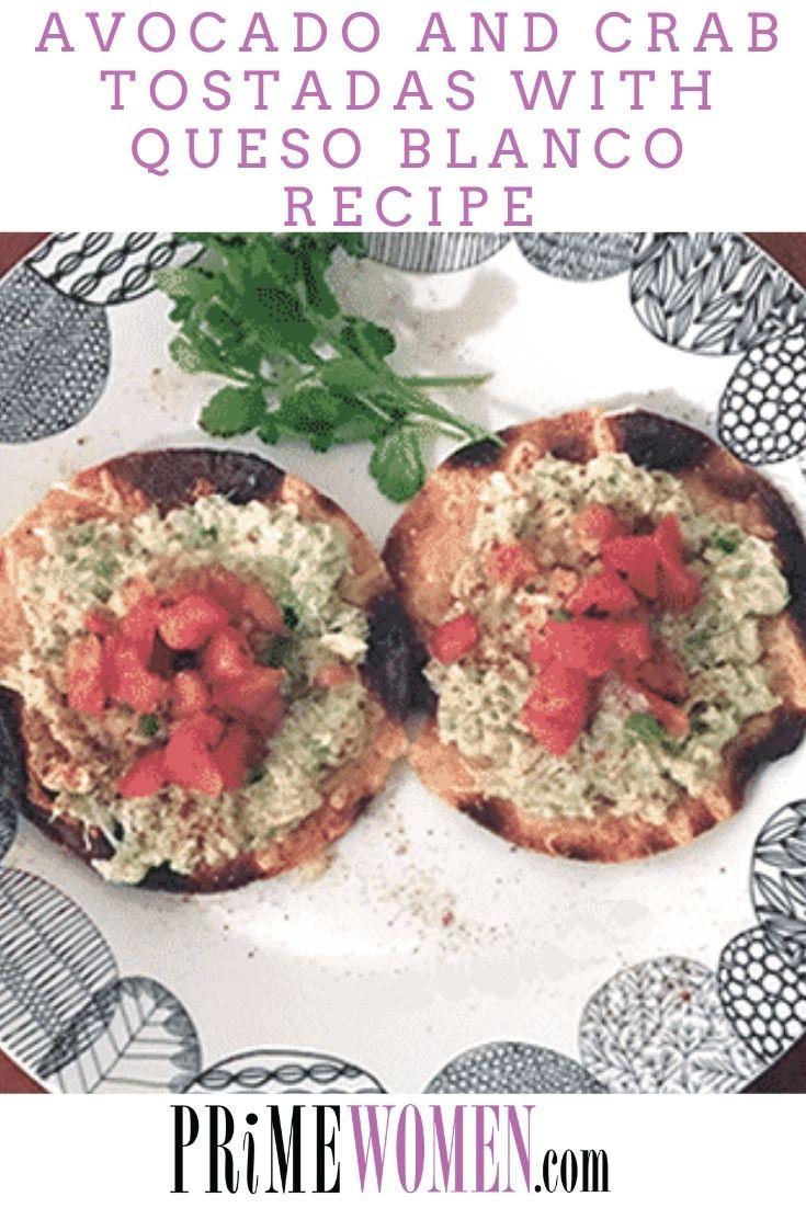 Avocado and Crab Tostadas with Queso Blanco Recipe