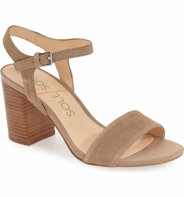 'Linny' Ankle Strap Sandal