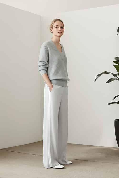 Reiss V-neck Sweater and Track Pants