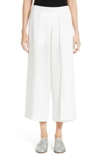 Rowe Pleat Crop Pants