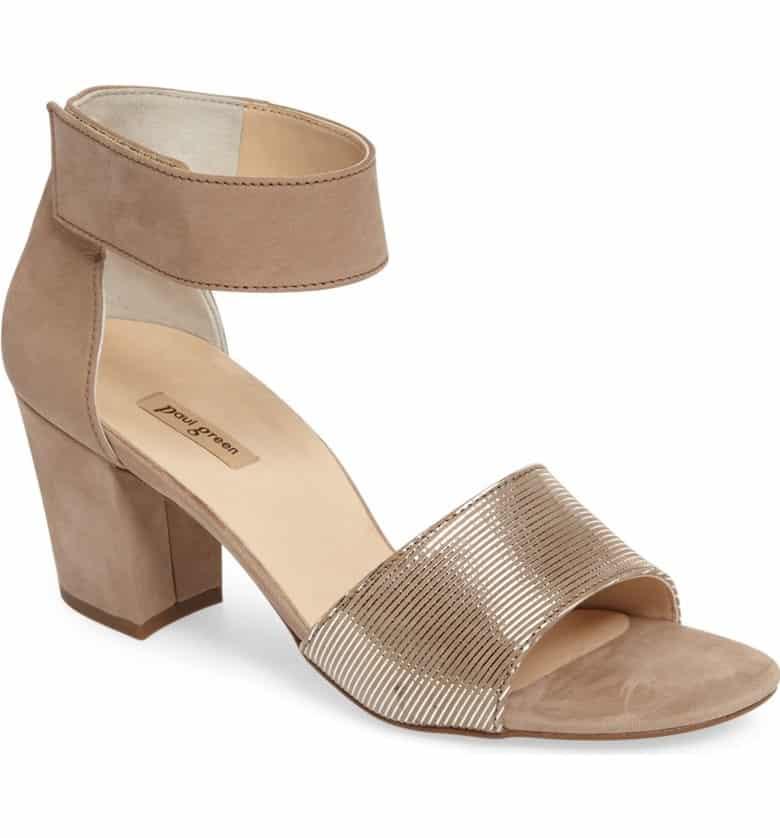 'Wells' Ankle Strap Sandal