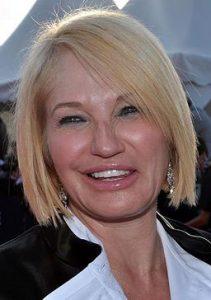 Ellen Barkin - too old for long hair