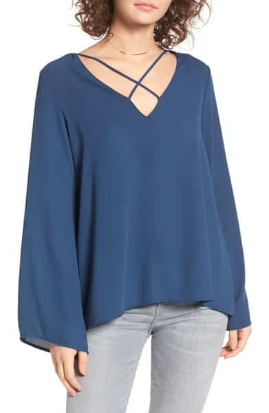 Cross Front Blouse