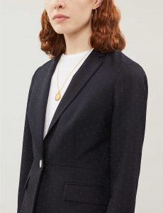 ANABELI SPOT-PATTERN TWILL BLAZER by Ted Baker at Selfridges