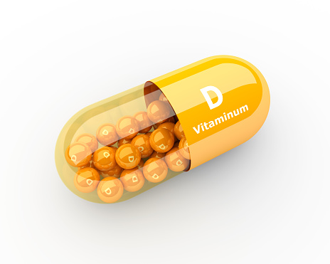 Morning Routine includes vitamin D