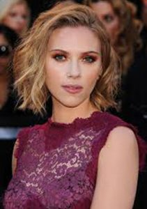 too old for long hair - ScarJo