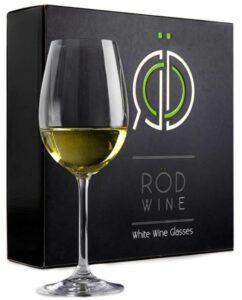 Rod Wine White Wine Glasses