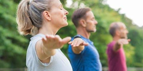 yoga helps depression